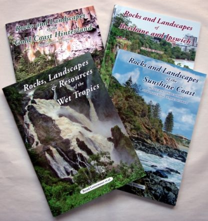 Rocks and Landscapes of Queensland book series at rockhoundz.com.au