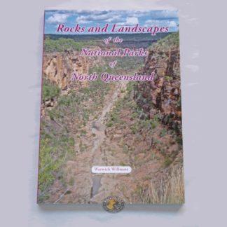 rocks and landscapes of the national parks of north queensland book at rockhoundz.com.au
