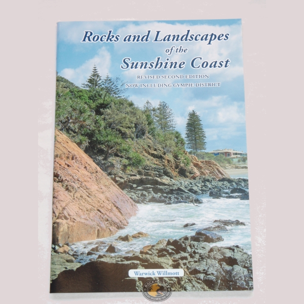rocks and landscapes of the sunshine coast book at rockhoundz.com.au