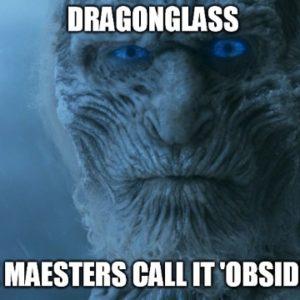 dragonglass obsidian from rockhoundz.com.au