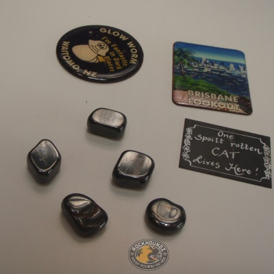 man made magnetic ferrite from rockhoundz.com.au