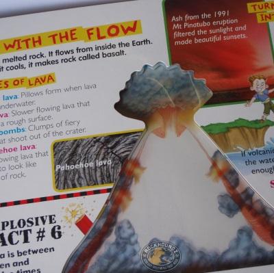 volcano x-ray book at rockhoundz.com.au